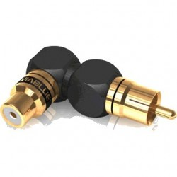 Viablue RCA XS Adapter angled XL (pair)