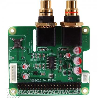 Audiophonics I-Sabre DAC ES9023 Raspberry Pi B+ / I2S