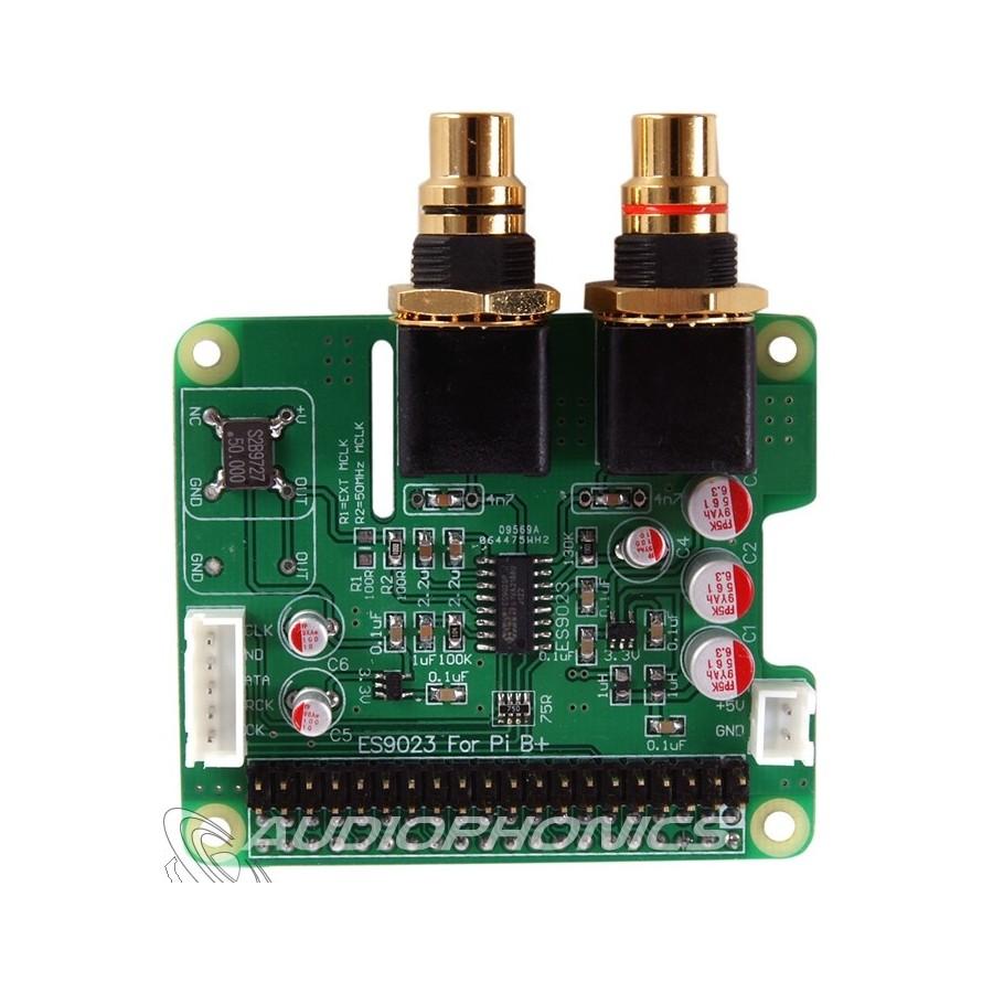 Audiophonics I Sabre Dac Es9023 Raspberry Pi A B 20 I2s Wiringpi Banana Pro