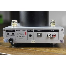 Qinpu A6800 Amplificateur Hybride à lampe 2x 16.5W 8 ohms USB SA9023 Bluetooth 4