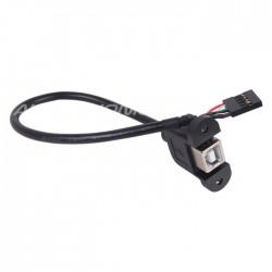 MiniDSP Passe cloison USB-B femelle vers 5 pin 15cm
