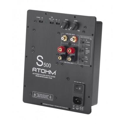 ATOHM S500 ICE POWER Module amplificateur Class-D Subwoofer