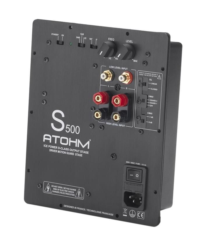 ATOHM S500 ICE POWER Amplifier module Class-D Subwoofer 500W