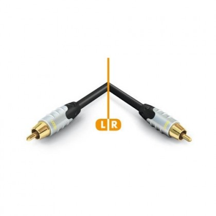 HICON Ambience Series Coaxial Cable SPDIF OFC Gold Plated 24K 1.50m