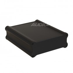 Box DIY 100% Aluminium Black 160x133x50mm