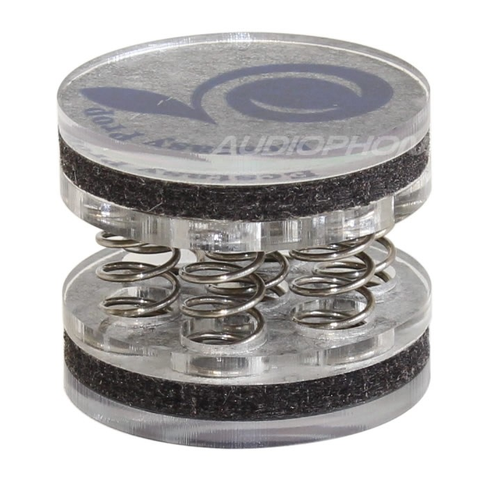 Damping Feet with Springs 35mm Ø43mm (Unit)