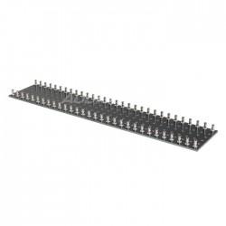 PCB 30x2 bornes pour câblage en l'air 300x60mm