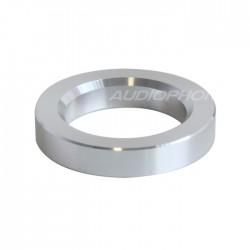 Anneau d'habillage Aluminium pour tubes Ø 23mm Silver (L'unité)