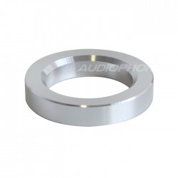 Anneau d'Habillage Aluminium pour Tubes Ø23mm Argent (Unité)