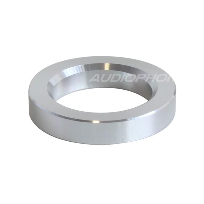 Anneau d'habillage Aluminium pour tubes Ø23mm Silver (L'unité)