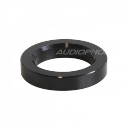 Aluminium Ring for vacuum tube Ø23mm Black (Unit)