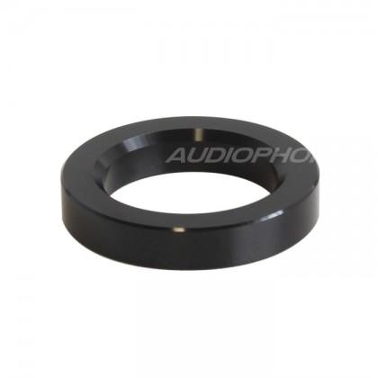 Anneau d'habillage Aluminium pour tubes Ø 23mm Black (L'unité)