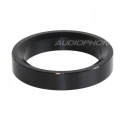 Aluminium Ring for vacuum tube Ø34mm Black (Unit)