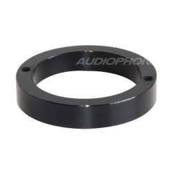 Aluminium Ring for vacuum tube Ø 34mm Black (Unit)