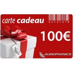Carte Cadeau AUDIOPHONICS - 100€
