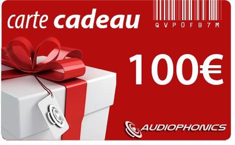 Gift Card AUDIOPHONICS - 100€