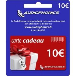 Carte Cadeau -Audiophonics- 10€