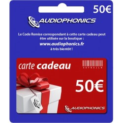 Gift Card -Audiophonics- 50€