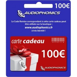 Gift Card -Audiophonics- 100€