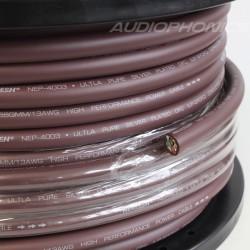 NEOTECH NEP-4003 Câble secteur Cuivre UP-OFC plaqué Argent 2.5mm² Ø 11mm