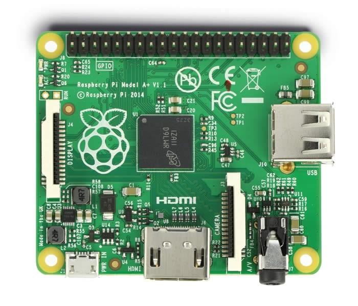 Raspberry Pi Model A+ 256Mo HDMI USB