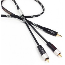 1877PHONO EVANJEL MK2 3.5-RCA Jack 3.5mm to RCA Modulation Cable 2m