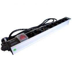 BLANKO PDU1008 Multiprise Aluminium pour Rack