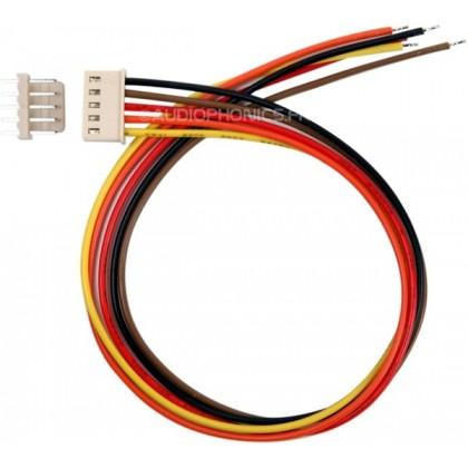 Connecteur PCB avec cordon et embase Mâle 5 voies (unité)