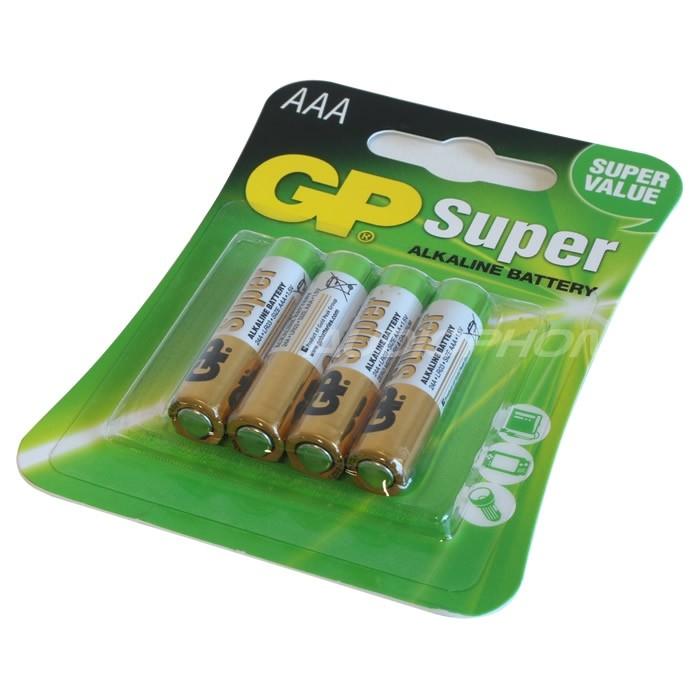 GP Super Pile LR3 AAA 1.5V (Set x4)