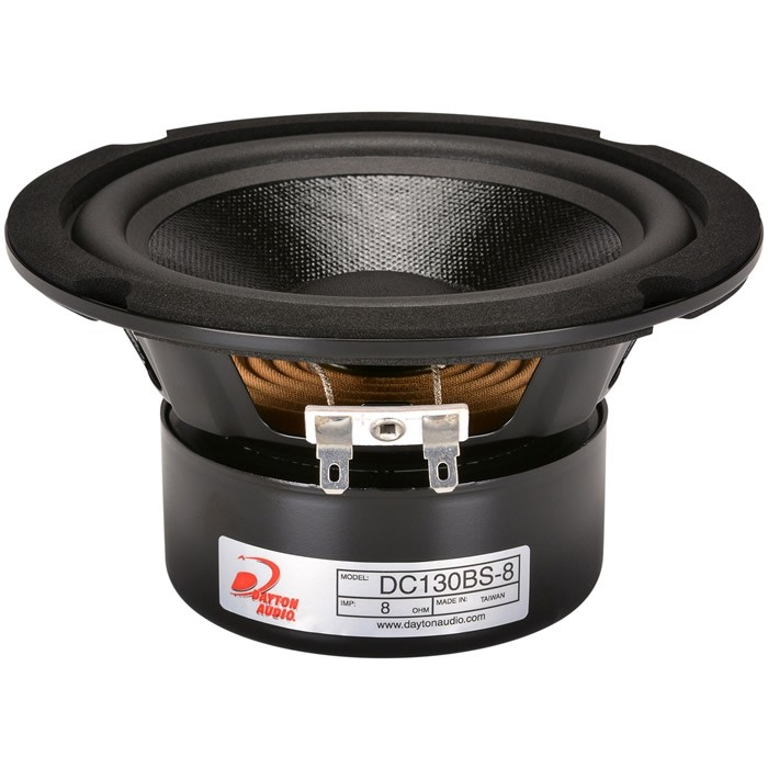 "DAYTON AUDIO DC130BS-8 5-1/2"" Classic Shielded Woofer 8 Ohm Ø14cm"