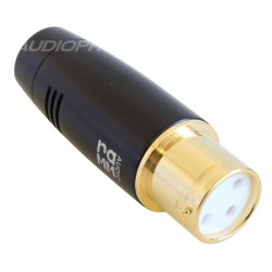 RAMM AUDIO 60200-GT Gold Plated Pure Copper 3 Way Female XLR Connector Ø11mm (Unit)
