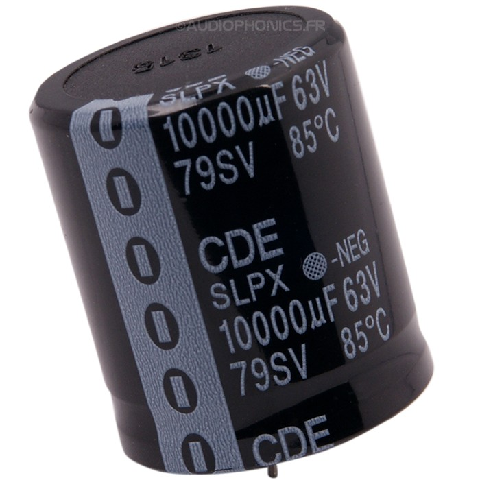 CORNELL DUBILIER Aluminium Capacitor 63V 10000μF