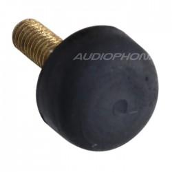Pied Caoutchouc Amortissant 10x5mm M3 Noir (Unité)