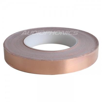 Feuille de cuivre 20mm blindage conducteur auto-adhésif 1m