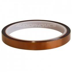 Ruban isolant adhésif très haute performance thermique Polyimide 10mm
