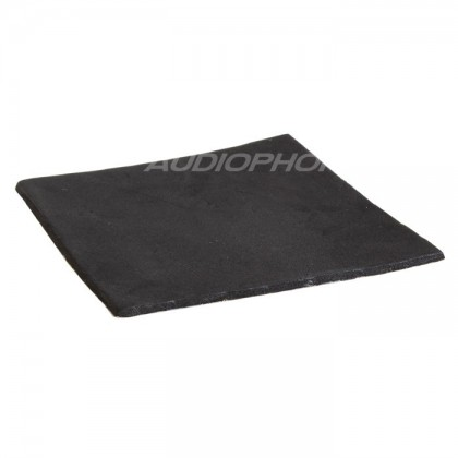 Heat shock absorbing adhesive Rubber 10x10x3mm
