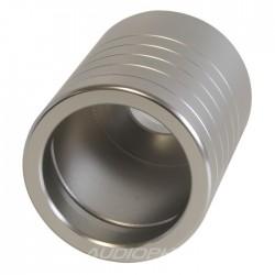 Bague Aluminium pour connecteur secteur IEC / Schuko Ø 20mm