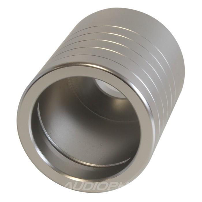 Coque Aluminium pour connecteur secteur IEC OYAIDE WATTGATE Ø 20mm