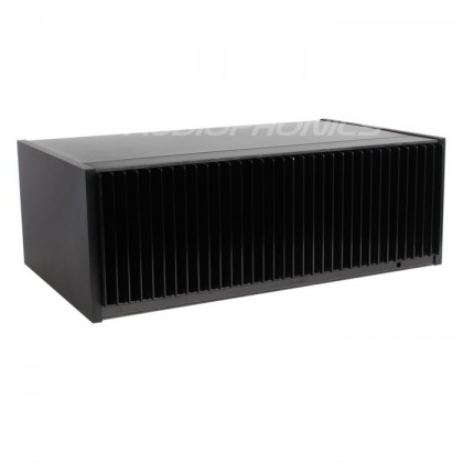 Boîtier DIY Aluminium avec radiateur frontal 348x214x120mm