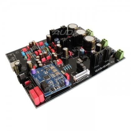 DIY DAC AKM AK4495 + AK4118 Kit 32bit/192khz XMOS