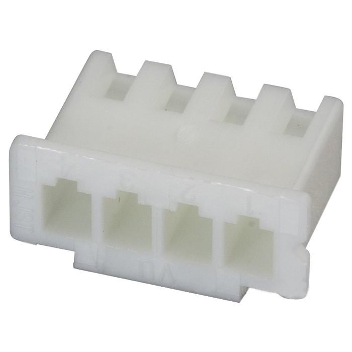 Boîtier XH 2.54mm Femelle 4 Voies Blanc (Unité)