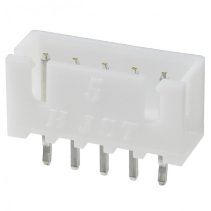 5 channels B5B-XH-A male plug (Unit)