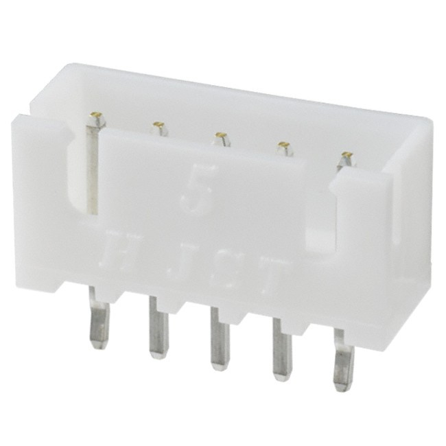 5 channels XH male plug XH-5 white (Unit)
