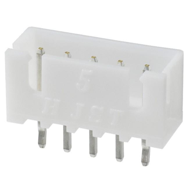 Connecteur Embase XH 2.54mm Mâle 5 Voies Blanc (Unité)