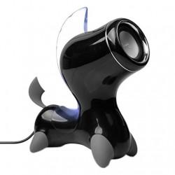 Enceinte Stéréo multimedia PC Smartphone Tablette Noir