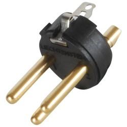 NEUTRIK NC3MX-B XLR plug male 3 pins Ø 8mm