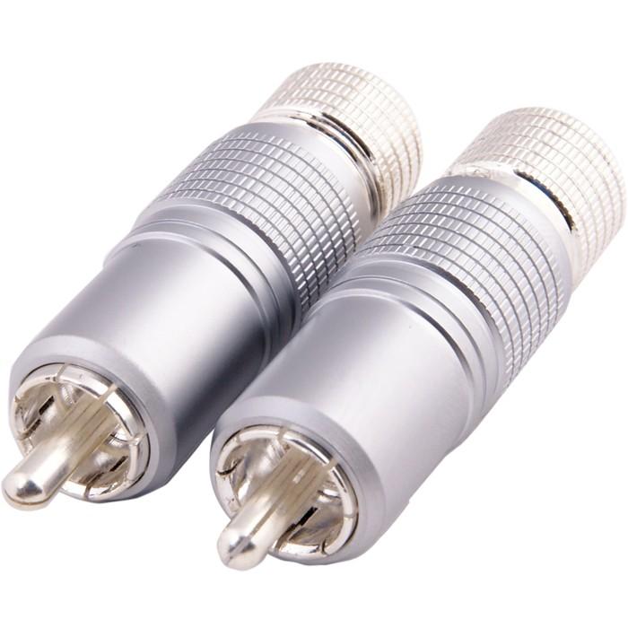 Connecteurs RCA verrouillables et sans soudure Ø 10mm (La paire)