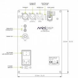 MiniDSP PWR-ICE125 Module amplificateur 450W