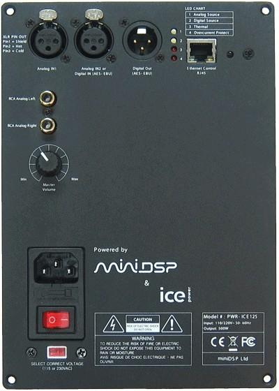 MiniDSP PWR-ICE125 Module amplificateur ASX2 450W / 4 Ohm DSP