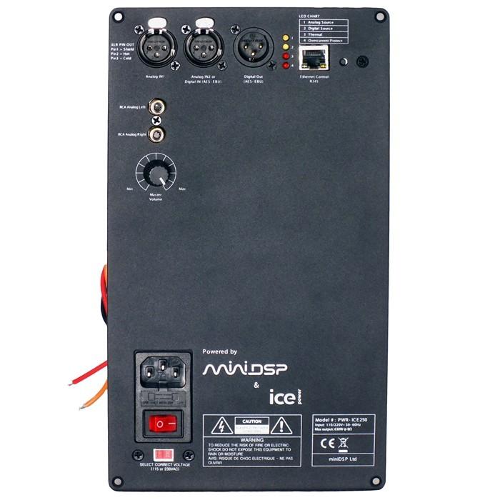 MiniDSP PWR-ICE250 Module amplificateur ASX2 630W / 4 Ohms